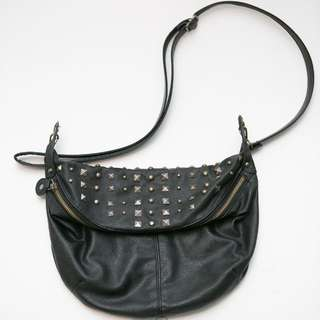 black stud bag by Jack and Jill (Korean brand)