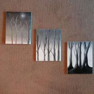 Triptych Painting Set