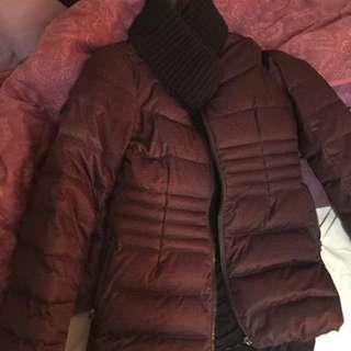 Purple Coat Medium RW & Co