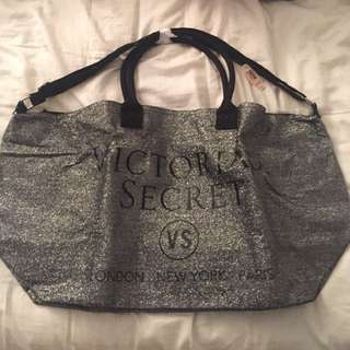 Victoria's Secret Limited Edition Weekender Tote Glitter XL