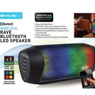 Speaker With LED Lights