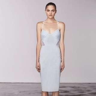 Bec and bridge Dress Size 8 Blue