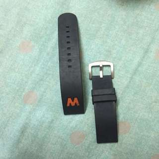 Welder Rubber Watch Strap 22mm (original)
