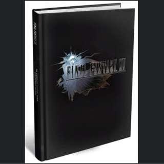 [1 left] Final Fantasy XV FF 15 Collector's Edition Guide Book