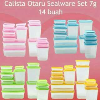 Calista Otaru ( Food Container ) 14 pcs