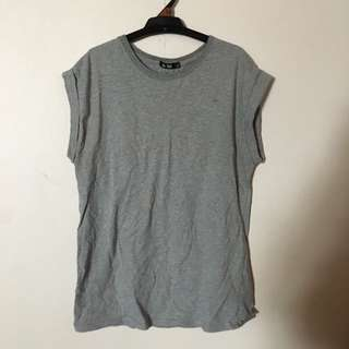Grey Casual Top