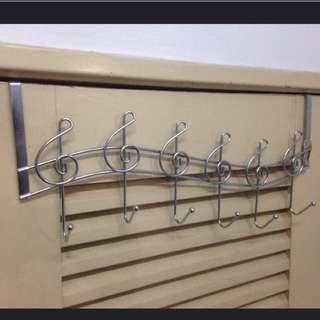 Music Notes Door Hooks Hanger