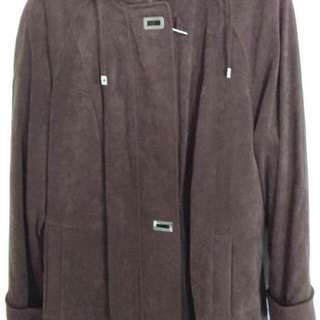 NEW Faux Moleskin Size 1X(18-20 plus) Woman's Coat
