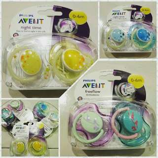 Philip Avent Soother / Pacifier 0-6 Months