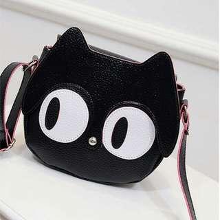 Cat Head Sling Bag