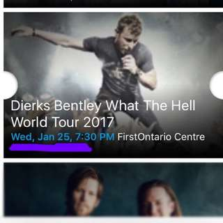 Dierks Bentley What The Hell 2017 Tour Tickets