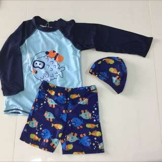 Swim Rashguard Set For Boy