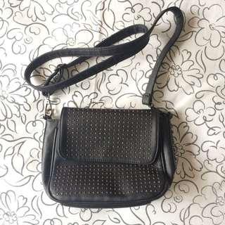 [REPRICE] Black Sling Bag