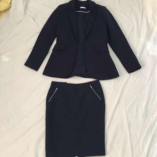 Suit Jacket And Skirt