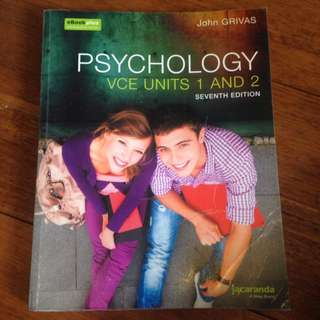Jacaranda Psychology VCE Units 1&2 7th Ed