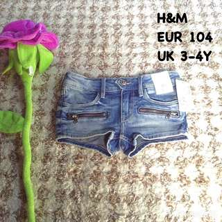 New H&M Denim Shorts
