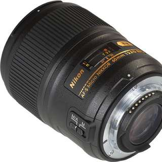 Nikkor 60mm 2.8G ED Micro For Sale or Swap To Fuji XF 60mm