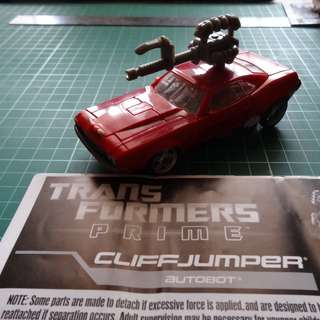 Transfomers Prime RID Cliffjumper Loose Complete