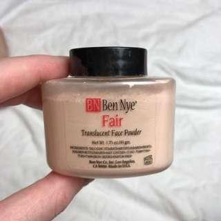"""RRP$24 - BEN NYE Loose Setting Powder """"Fair"""""""