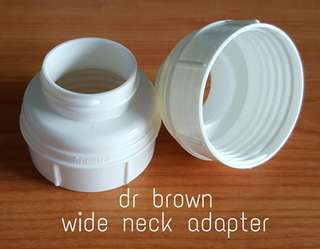 Stock Clearance - Spectra Dr Brown Wide Neck Adapter