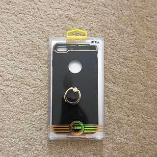 iPhone 7 Plus Phone Case Black N Rose Gold
