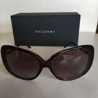 Faulty Authentic Bvlgari Cat Eye Sunglasses