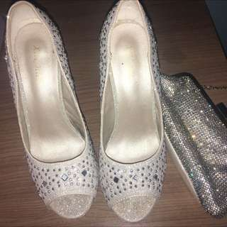 Formal Shoes And Bag