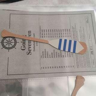 (pending) WTT Going Seventeen Joshua Paddle Bookmark