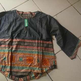 Baju Motif Tunik