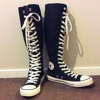 Converse, Black Chuck Talors