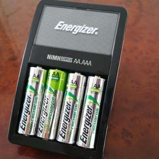 Energizer AA/AAA Batteries Charger