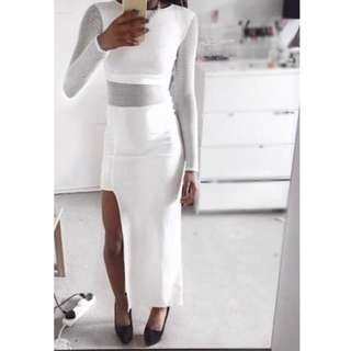 White Dress (Petite) size 6