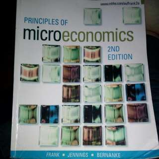 Principles of Microeconomics (2nd Edition) - Frank, Jennings, Bernanke