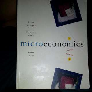 Microeconomics (2nd Edition) - McTaggart, Findlay, Parkin