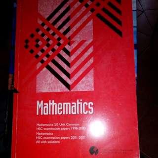 HSC 2/3 Unit Common Mathematics Past Papers (1998-2007)