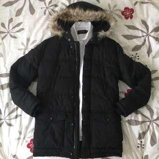 ASOS Hooded Faux-Fur Coat