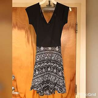 Charlotte Russe Pattern Dress
