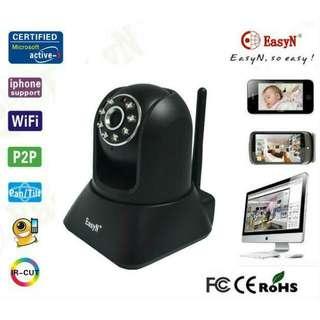 EasyN WIFI P2P 2-Way Audio Wireless IP Camera Nightvision