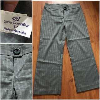 Pants Silver Grey