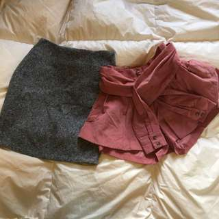 韓國製半截裙/褲 Korea Made Skirt # marchsale