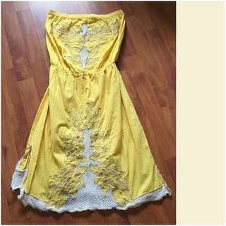 Strapless Dress *reduced Need It Gone