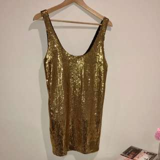 BRAND NEW | Sequin Mini Dress