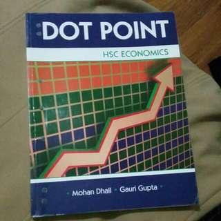 Dot Point HSC Economics