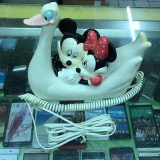 ✌️️中古🖐迪士尼造型家用電話