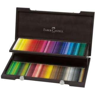 Faber-Castell Colour Pencil Polychromos wood case of 120 (110013)