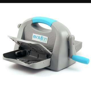 We R Memory Keepers Evolution Advance Die Cutting/Embossing Machine