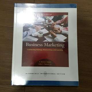 Business Marketing 4th Edition - Mc Graw Hill