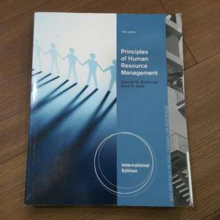 Principles Of Human Resource Management 16th Edition - South Western Cengage Learning