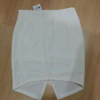 White Skirt (Front Short Back Long)