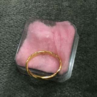 Gold Ring From Saudi 21k, 2.1grams